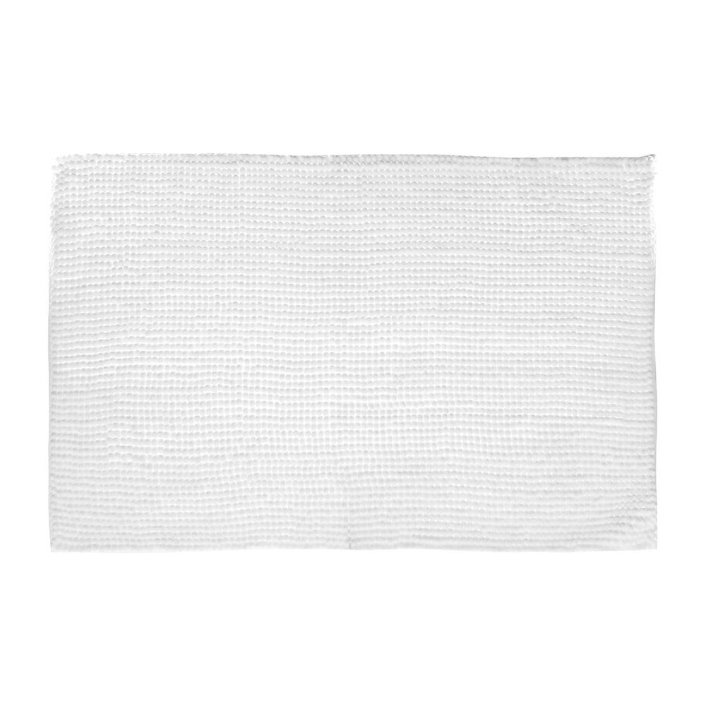 Alfombra De Baño - 50X80Cm - Blanca