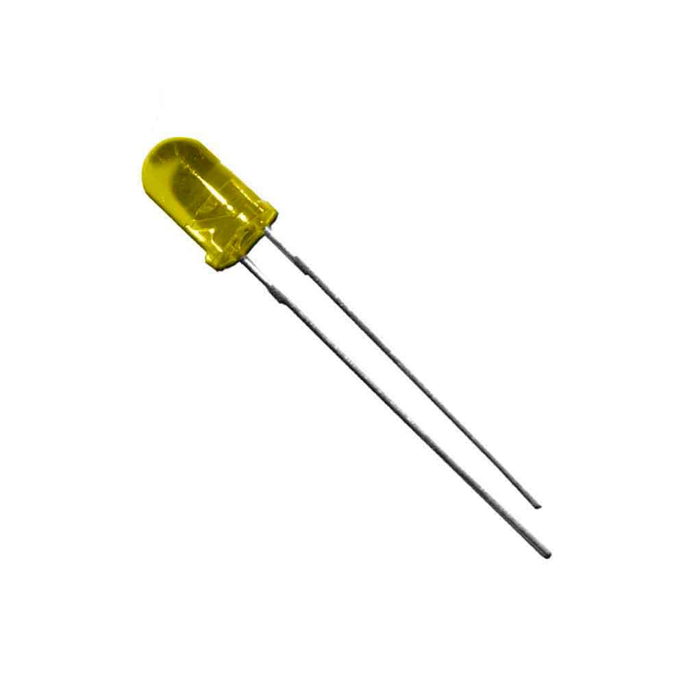 Diodo Led Amarillo 5Mm (Manualidades) 1,9V