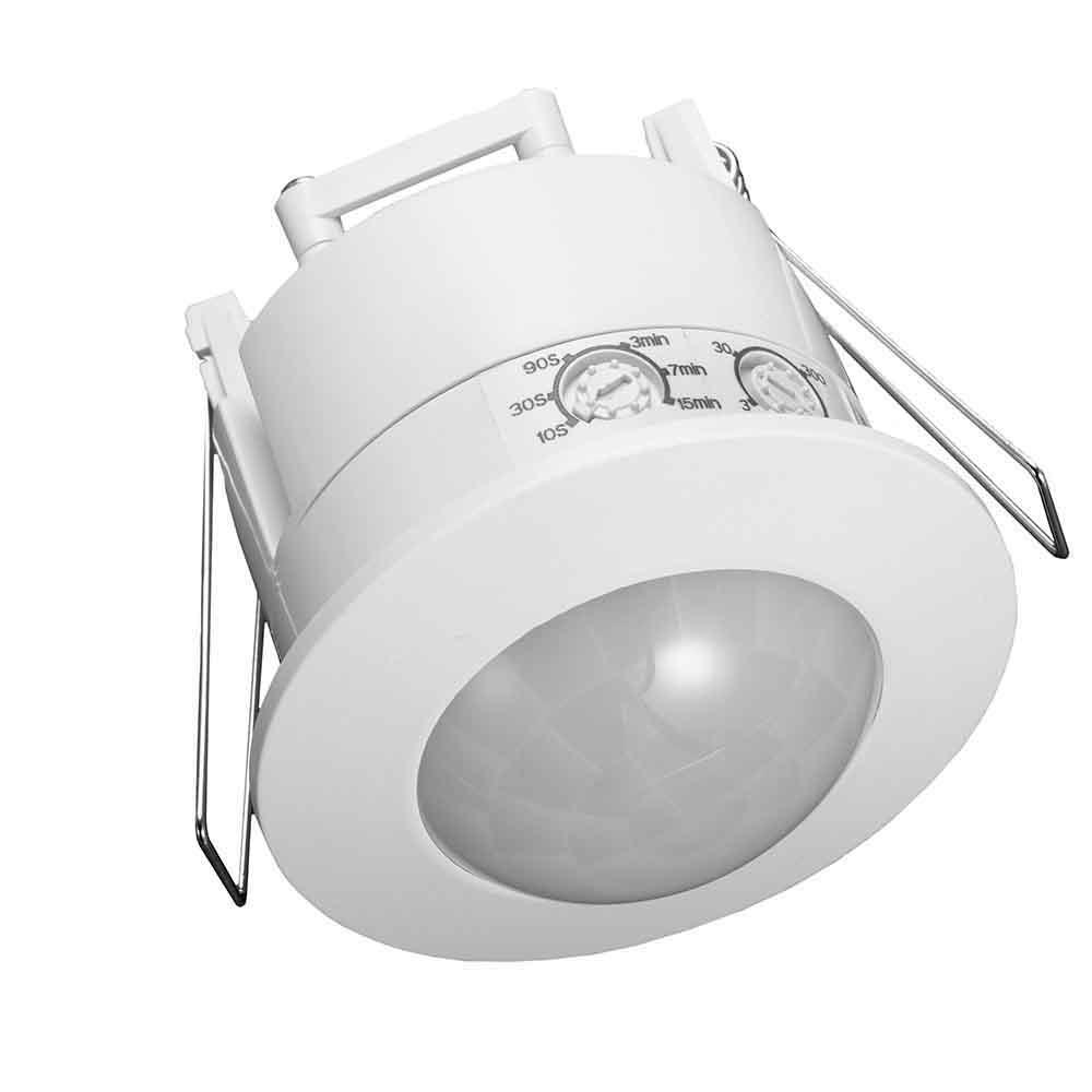 Detector de Presencia EMPOTRABLE 360º hasta 1200//300W