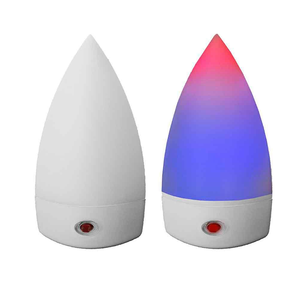 Piloto Noche Con Led Multicolor Sensor Fotoelectrico