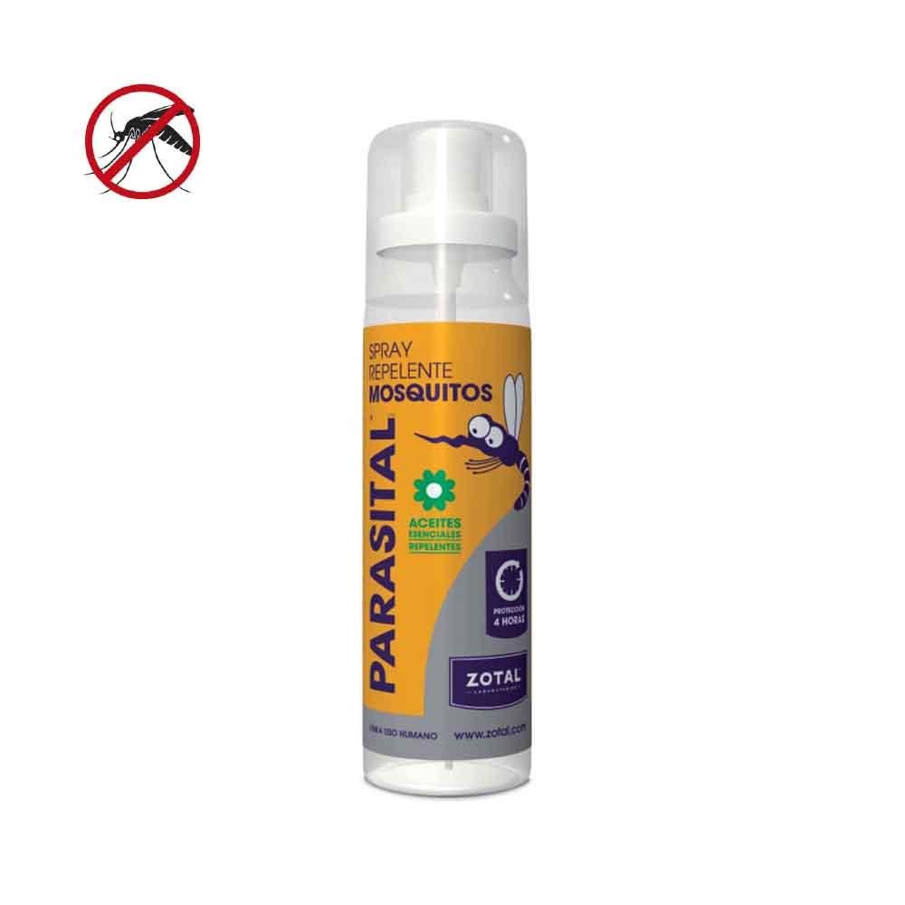 *Ult.Unidades* Parasital Zotal Spray Repelente Mosquitos 100Ml