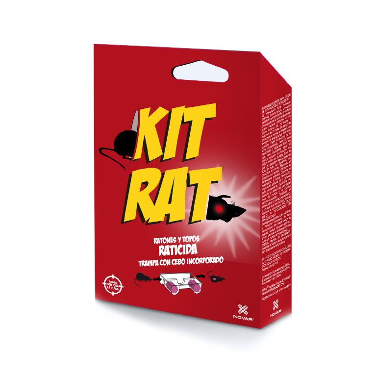 Kit Trampa Con Raticida