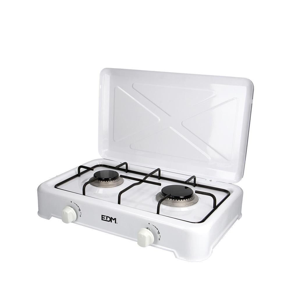 Cocina De Gas - Esmaltada - 2 Fuegos - Edm
