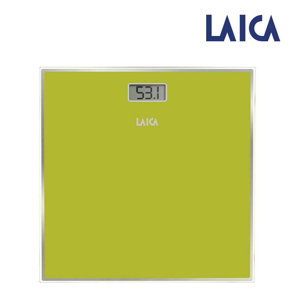 Bascula Electronica Para Baño Color Verde Máx.150Kg Laica