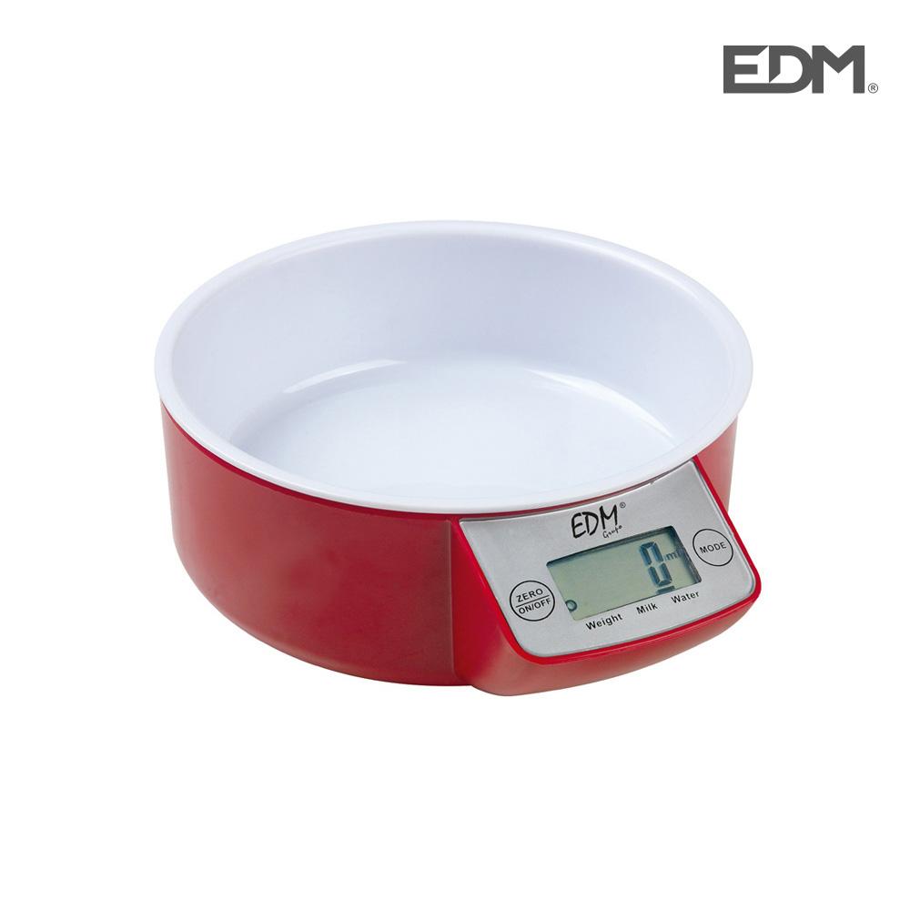 *Ult.Unidades* Bascula De Cocina Con Recipiente Max. 5Kg Edm
