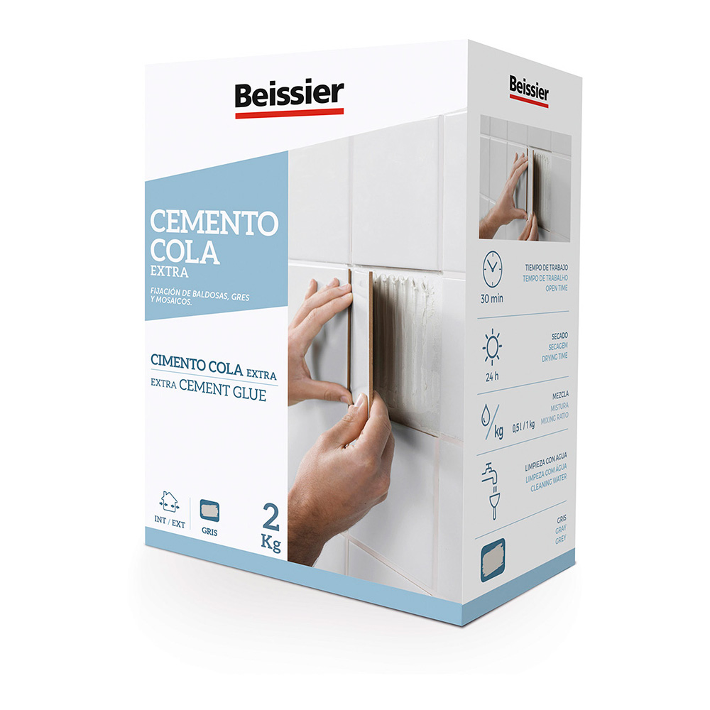 Beissier Cemento Cola Extra 2 Kg.