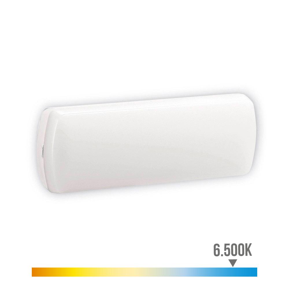 Aplique Emergencia Led 150 Lumens 2,5W 5 Leds 0,5W Edm