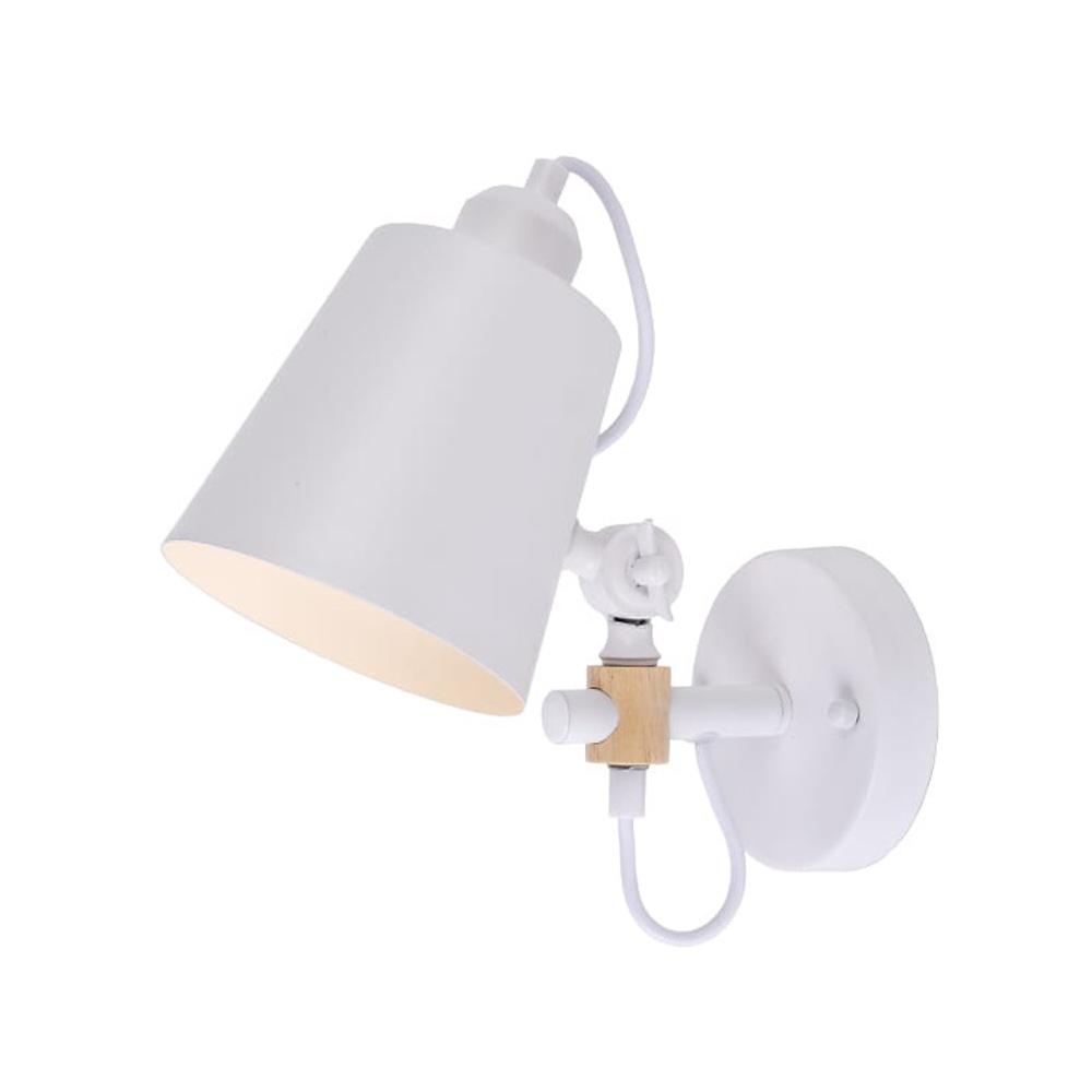 Aplique Pared  E27 Blanco Edm