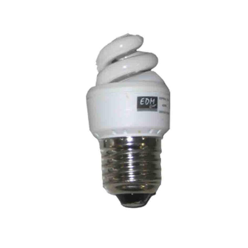 *Ult.Unidades* Bombilla Micro Espiral Bajo Consumo E27 4200K 5W Luz Fria