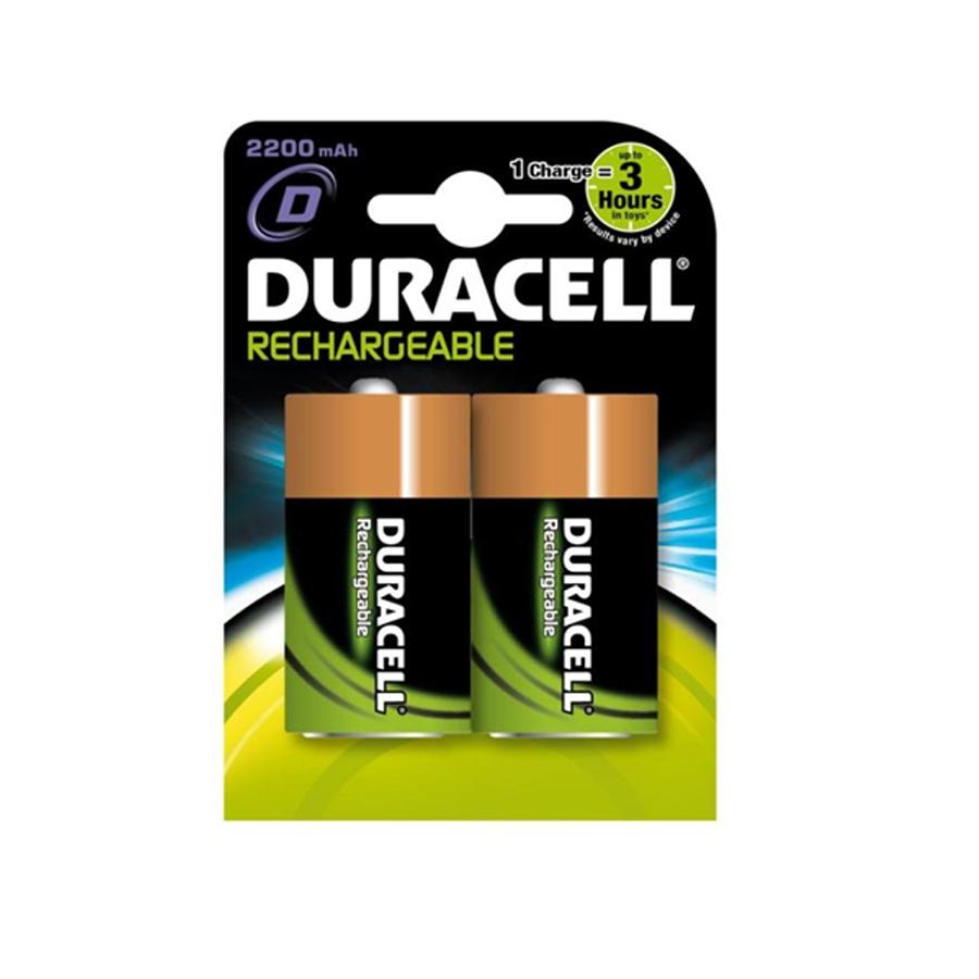 Pila Recargable R-20 2200 Mah (Blister 2 Pilas) Duracell