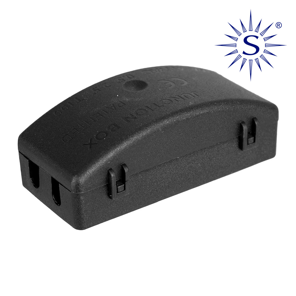 Caja De Conexion Para Iluminacion Ip20 Vacia Black Series