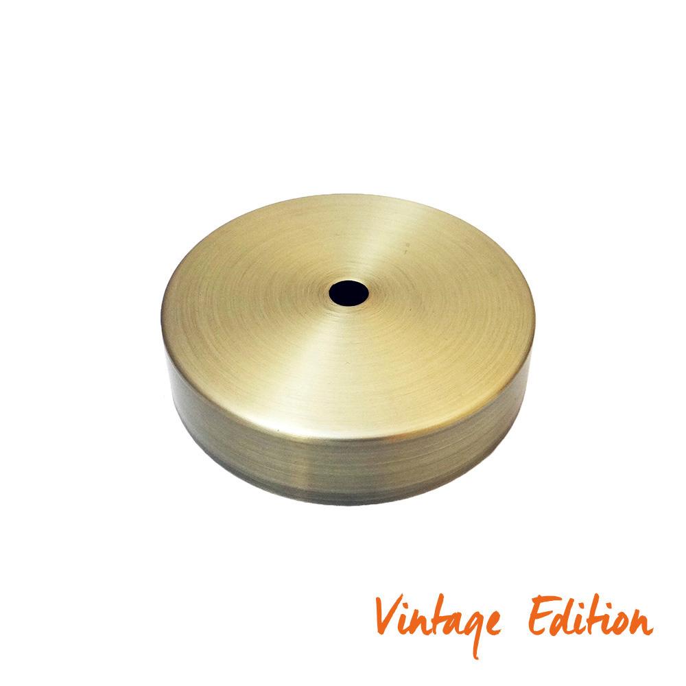 Floron Metalico Oro Nuevo (Ø 9,85Cm) Kit Montaje Incluido