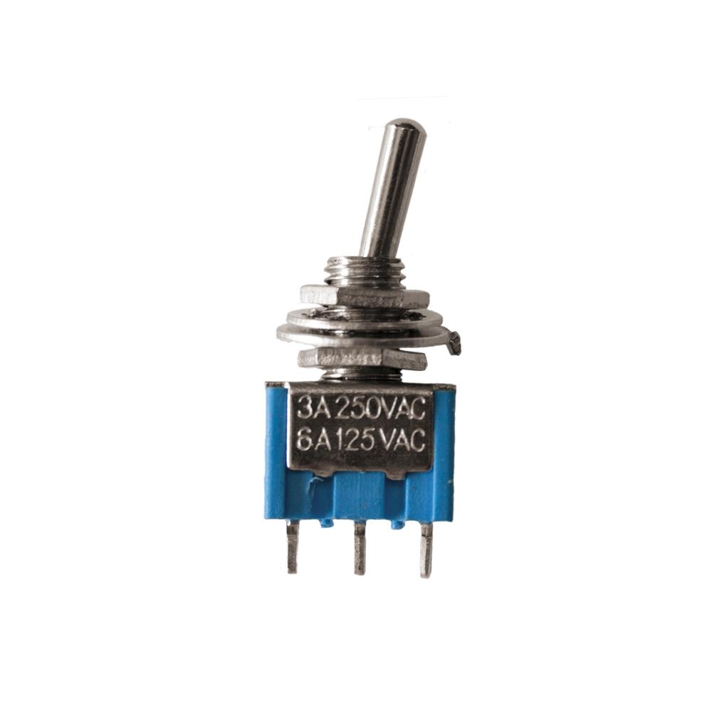 Interruptor De Balancin 6,5A 250V Con Piloto Luminoso