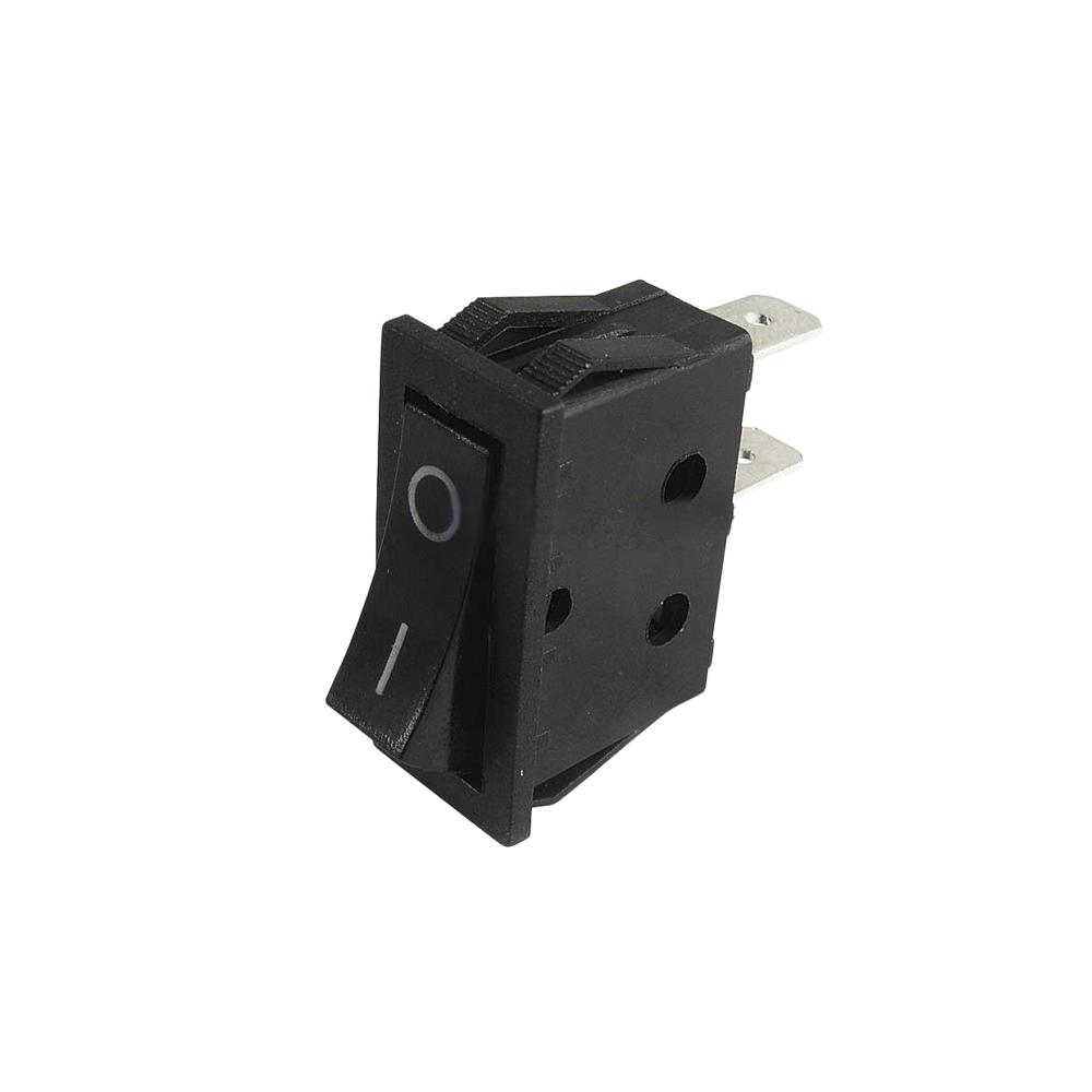 *Ult.Unidades* Interruptor Estrecho 15A 250V Negro