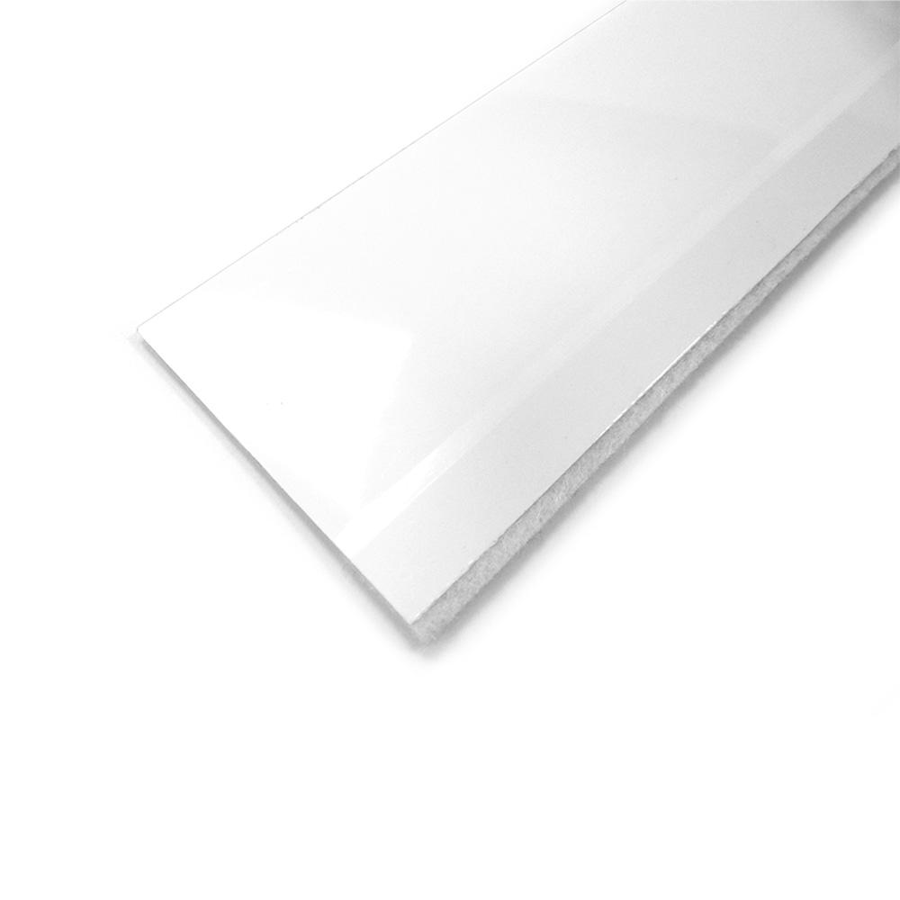 Burlete B. Puerta Flexible Blanco 1M
