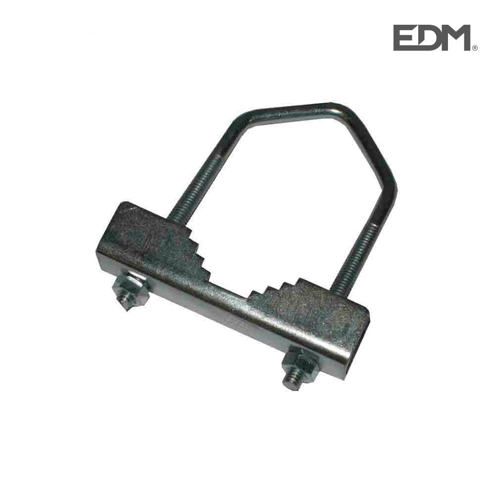 Abrazadera Mastil Para Antena De Exterior 6.5X8Cm
