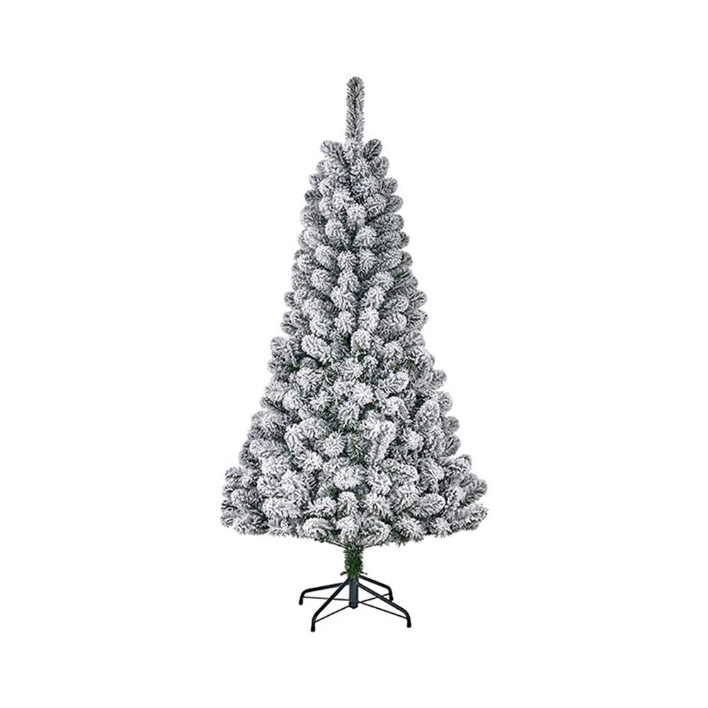 Arbol De Navidad Efecto Escarcha Con 266 Ramas 155X86Cm