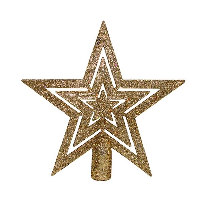 *Ult. Unidades*  Estrella De Navidad 15Cm Para Arbol