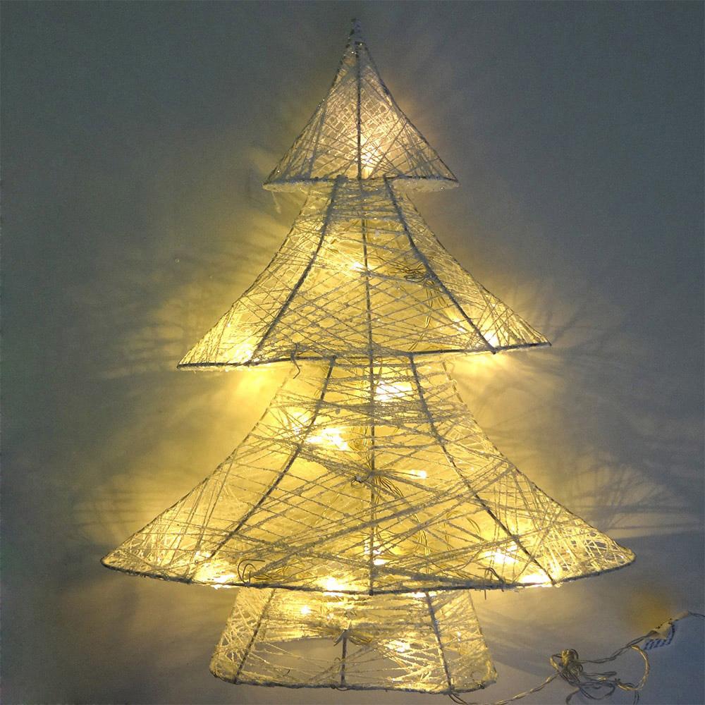 Arbol De Navidad Decorativo Led 3Xaa 10X34X40Cm