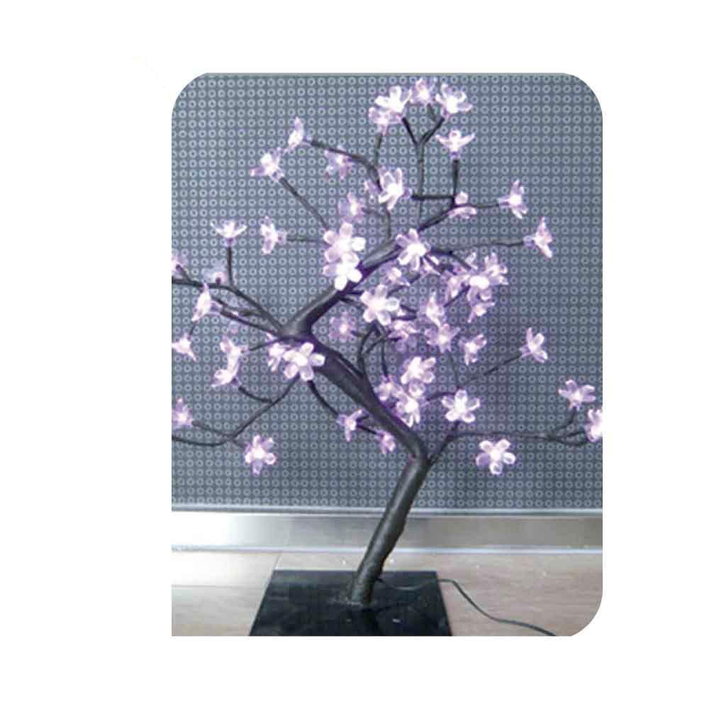 Arbol 3D Sakura 45Cm 60 Leds Rosas (Interior) Edm