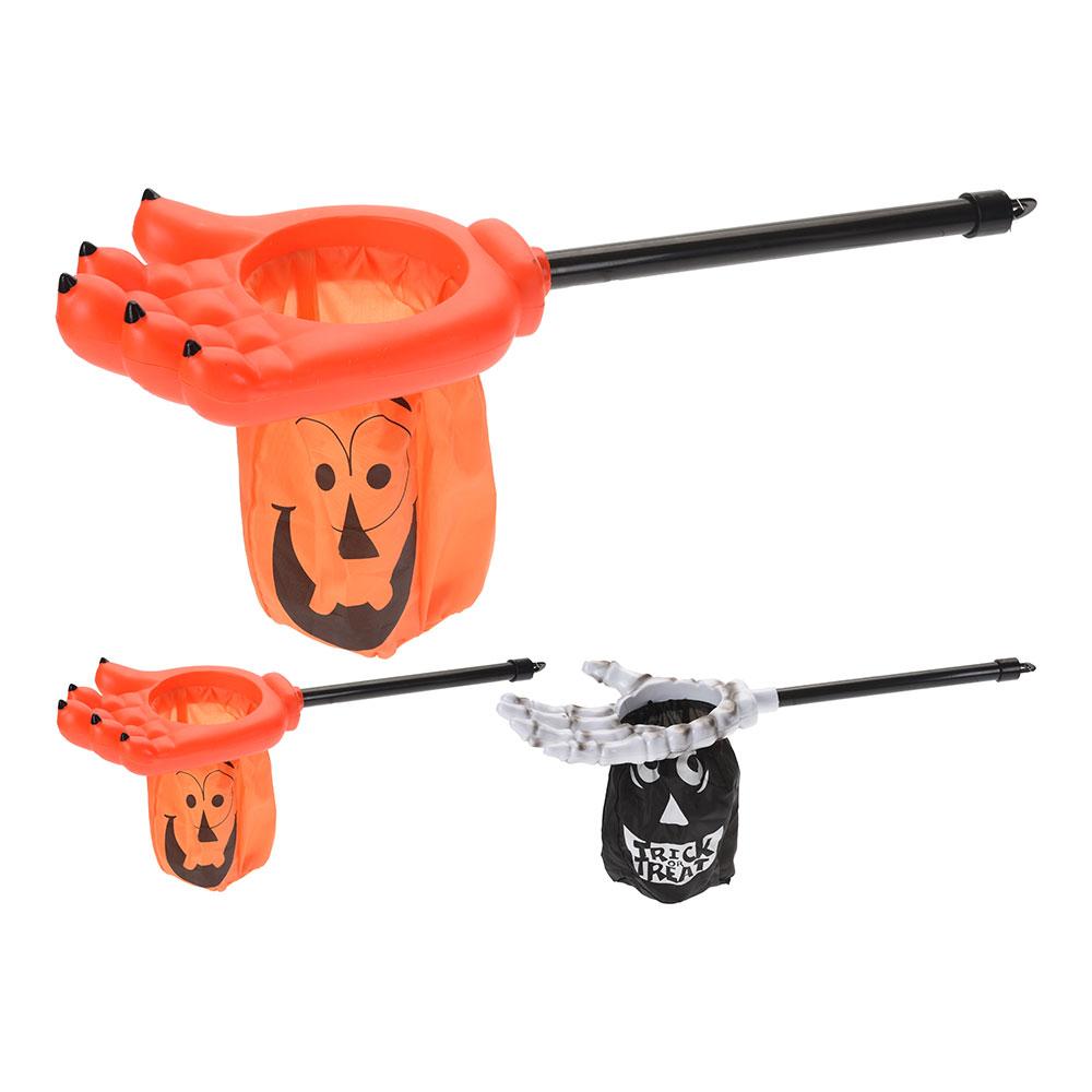 Garra Con Bolsa Recoge Caramelos Halloween