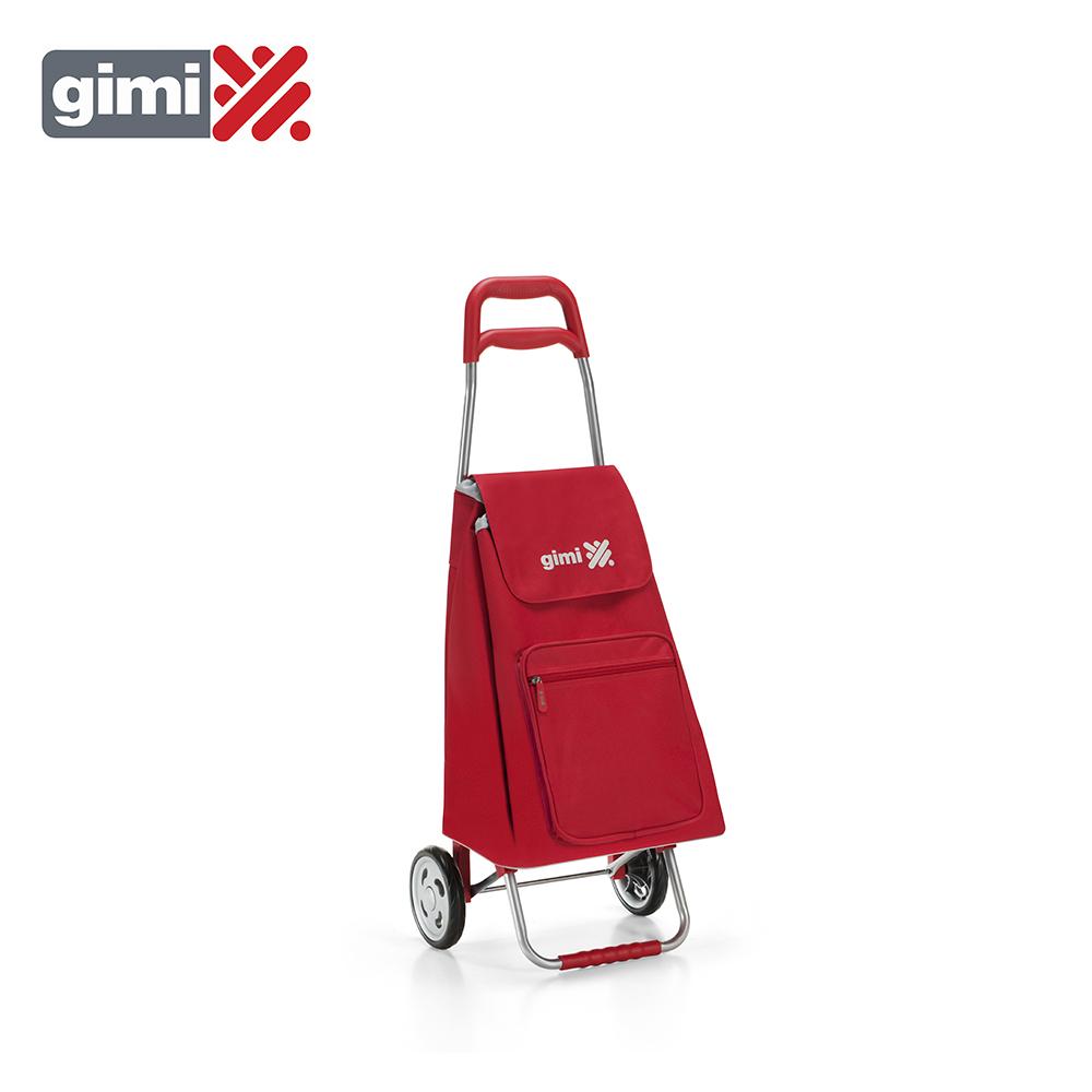 Carrito De La Compra Argo Bright Red 45L Gimi 154361