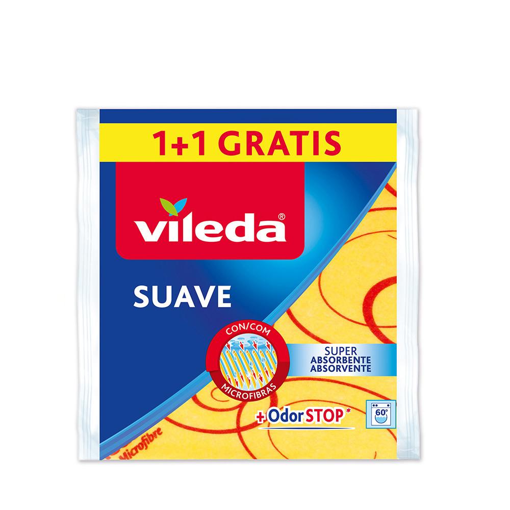 Bayeta Amarilla Suave 1+1 148936 Vileda