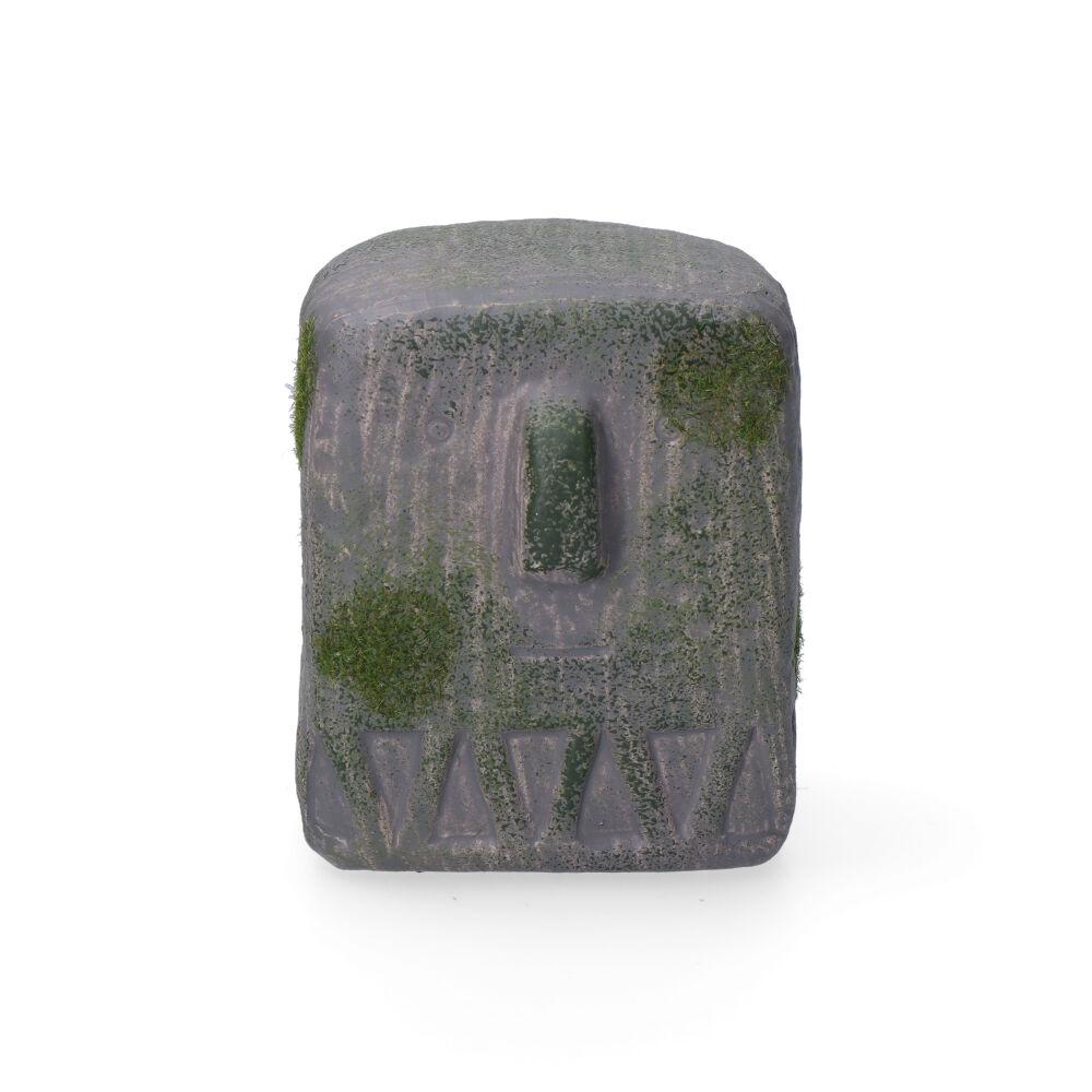 *Ult.Unidades*  Estatua Gris 9X8X9.5Cm