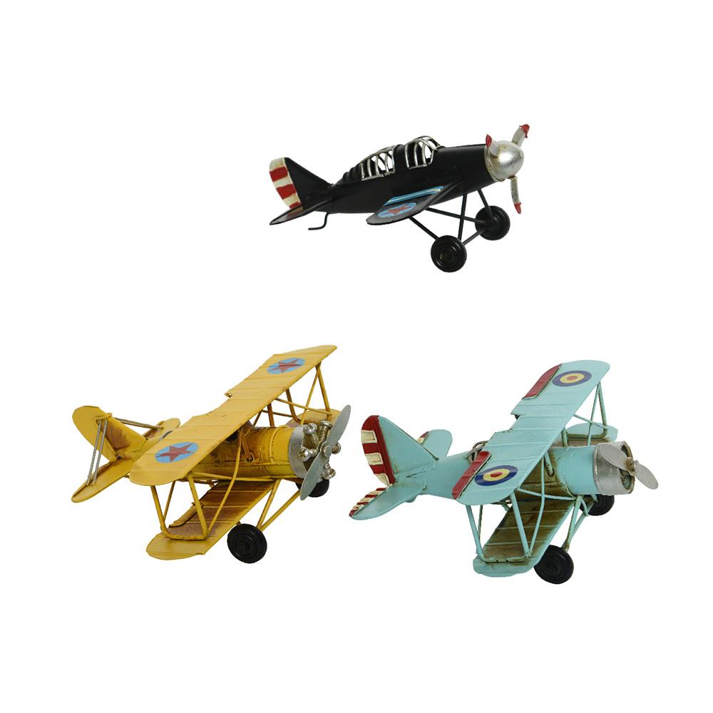 *Ult. Unidades*  Aviones De Hierro Estilo Vintage