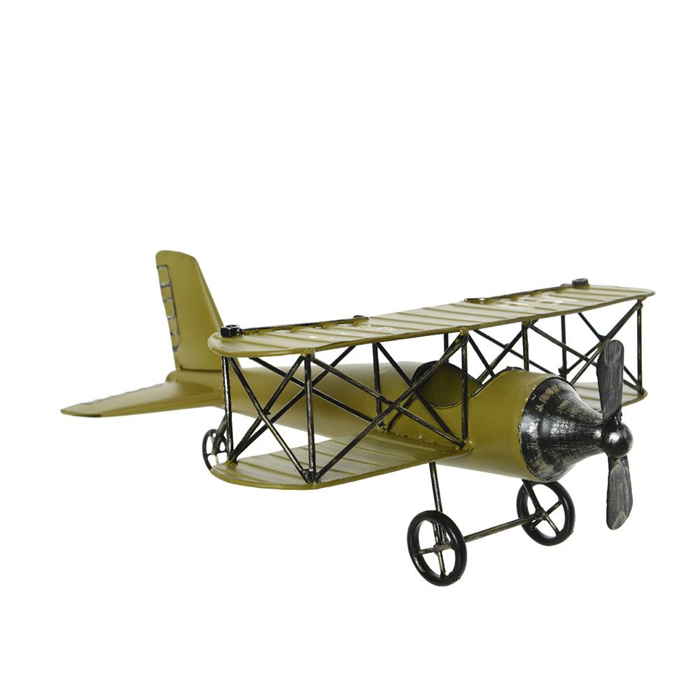 *Ult. Unidades*  Avion De Hierro Estilo Vintage