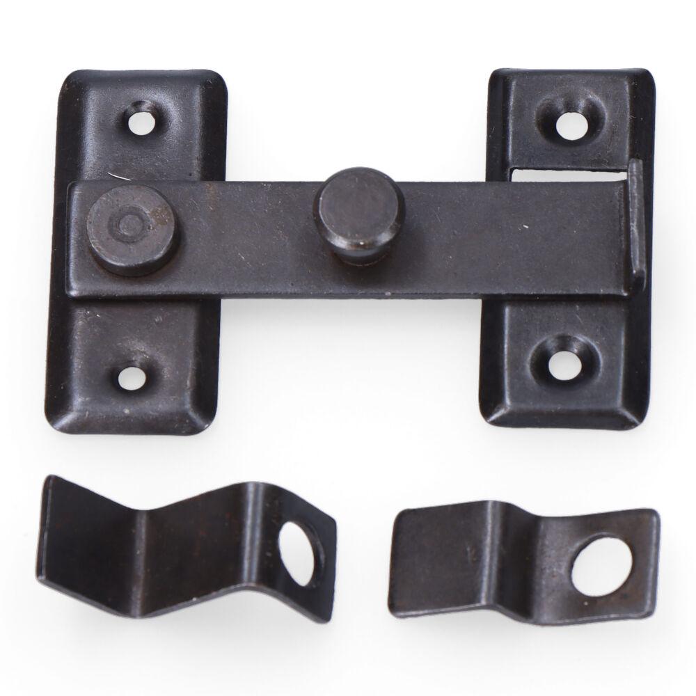 Aldaba Reversible 8Cm H Zinc Negro