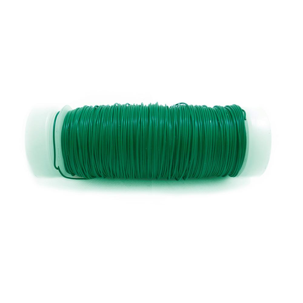 Alambre Verde Bobina Nº 6 - 0,40Mmx50M