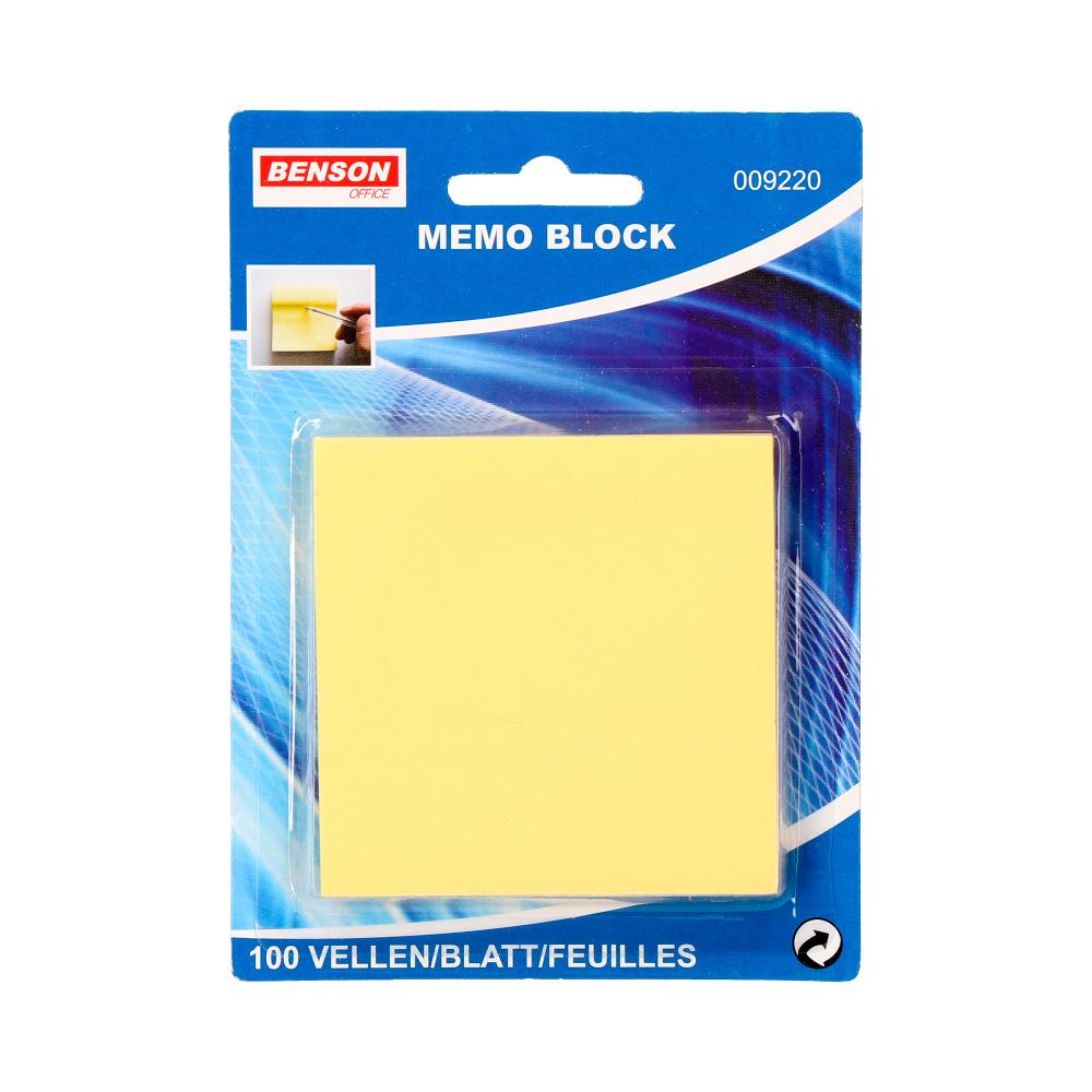 Bloc De Notas Adhesivas 100 Hojas