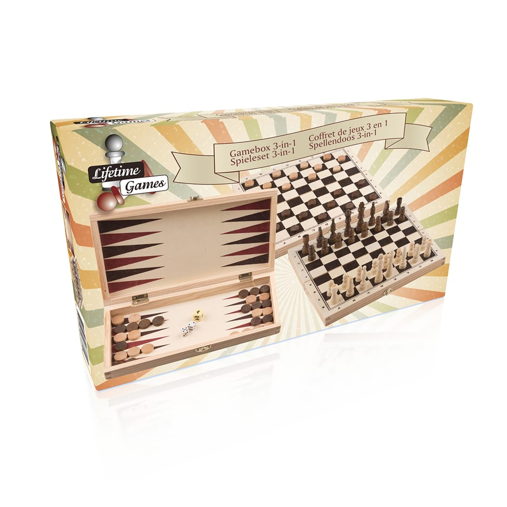 Gamebox Kit Juegos 3 En 1