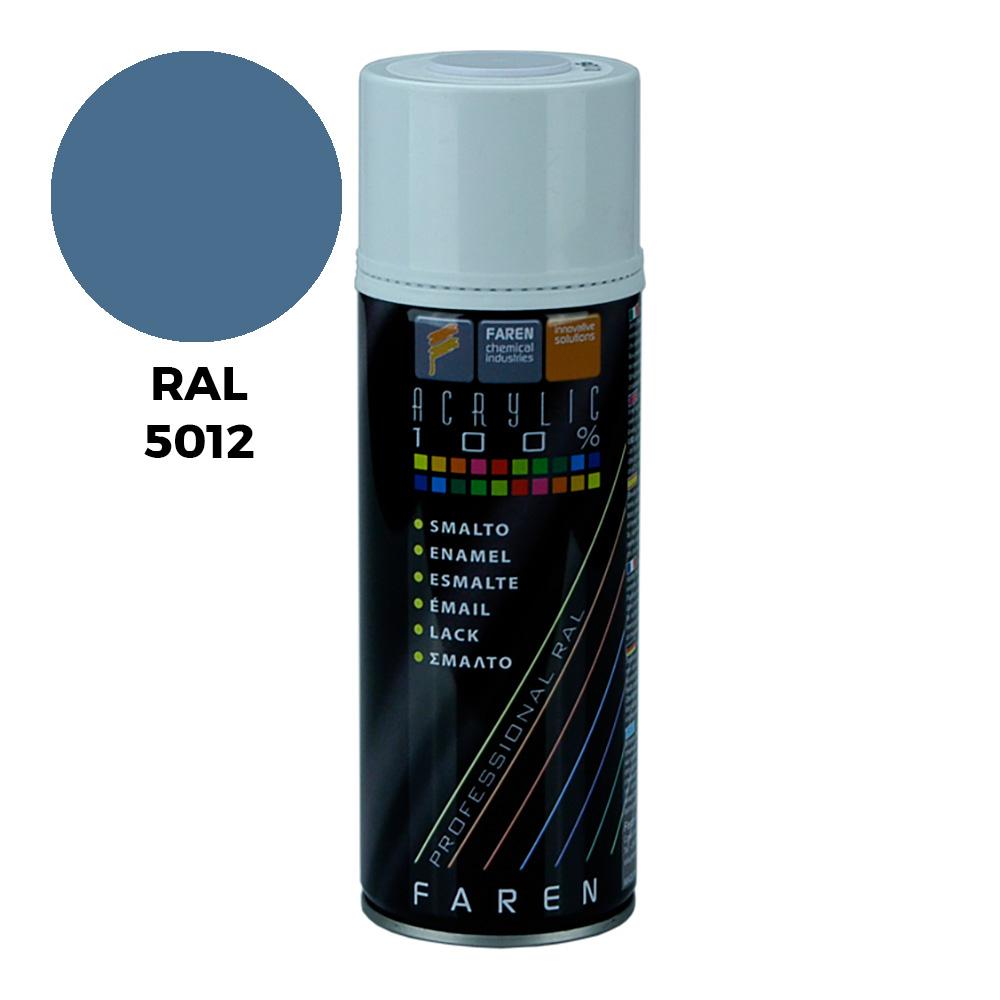 *Ult.Unidades*Spray Ral 5012 Azul Luminoso 400Ml