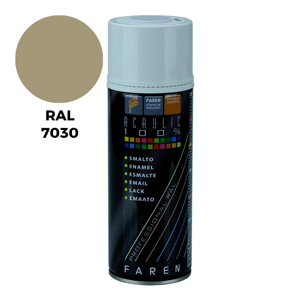 *Ult.Unidades*Spray Ral 7030 Gris Piedra 400Ml.