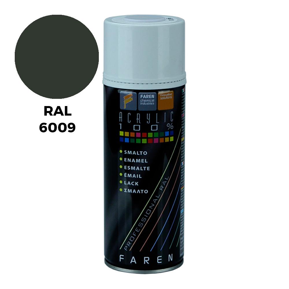 *Ult.Unidades*Spray Ral 6009 Verde Abeto 400Ml.