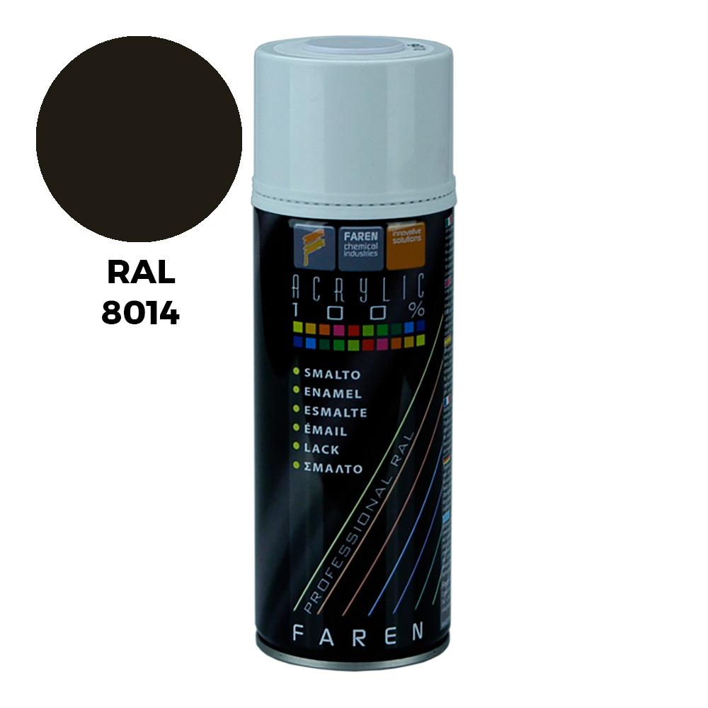 *Ult.Unidades* Spray Ral 8014 Marron Sepia 400Ml