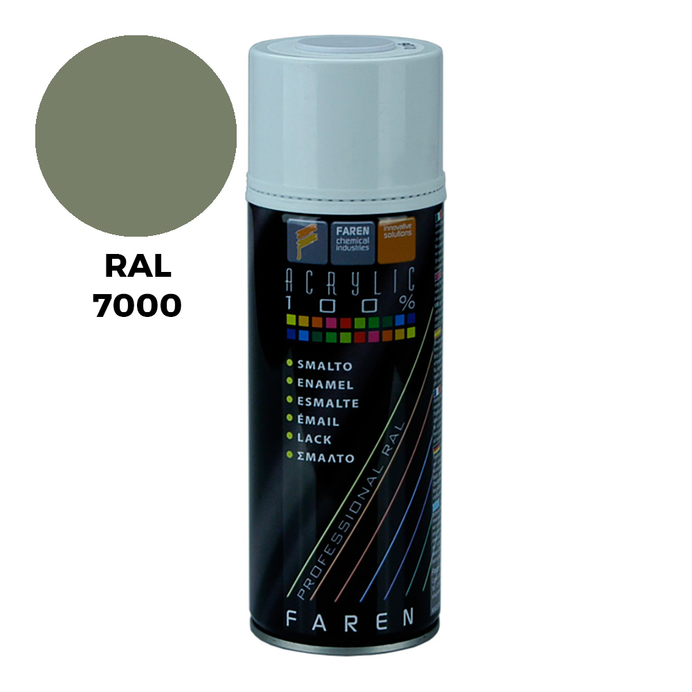 *Ult.Unidades*Spray Ral 7000 Gris Ceniza 400Ml