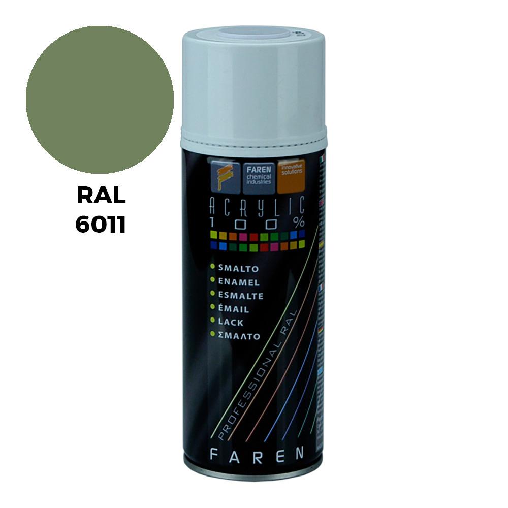 *Ult.Unidades*Spray Ral 6011 Verde Reseda 400Ml