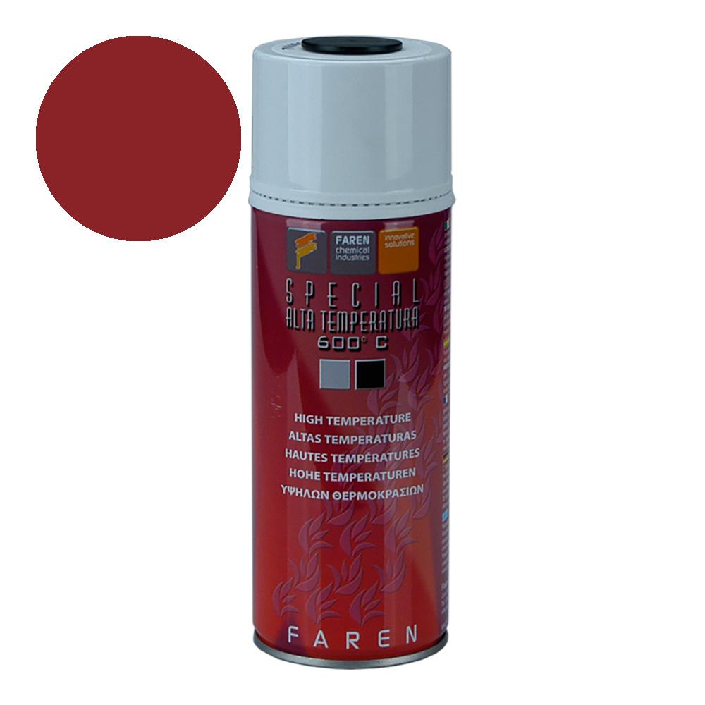 *Ult.Unidades*Spray Alta Temperatura Rojo 400Ml