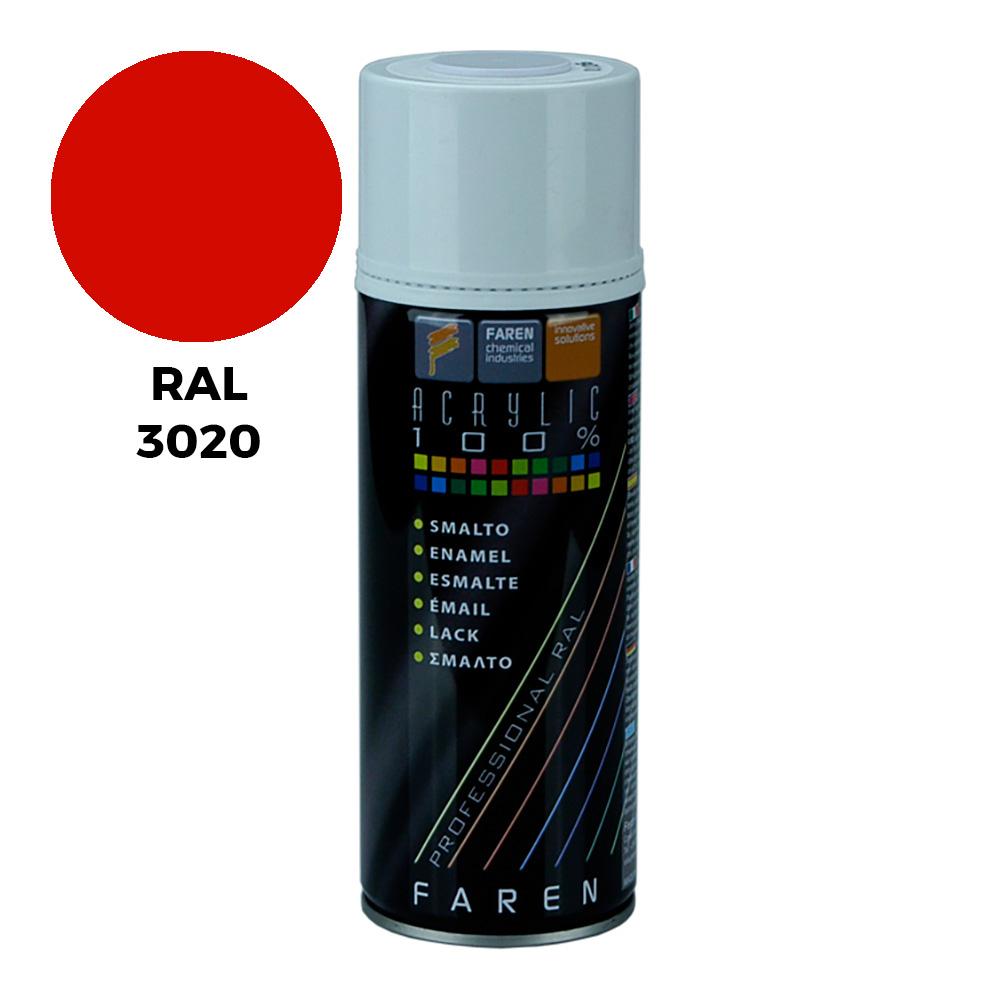 *Ult.Unidades*Spray Ral 3020 Rojo Trafico 400Ml