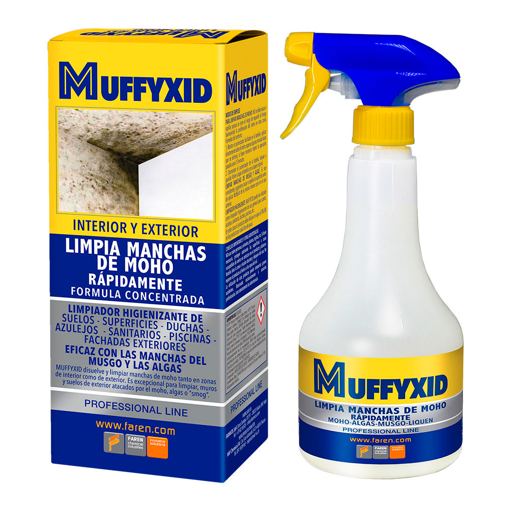 Muffyxid Box 500Ml Eliminador Moho
