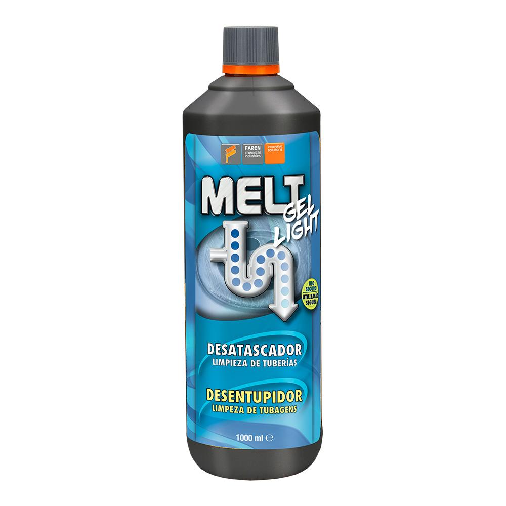 Melt Gel Light Desatascador Sin Acido Sulfurico
