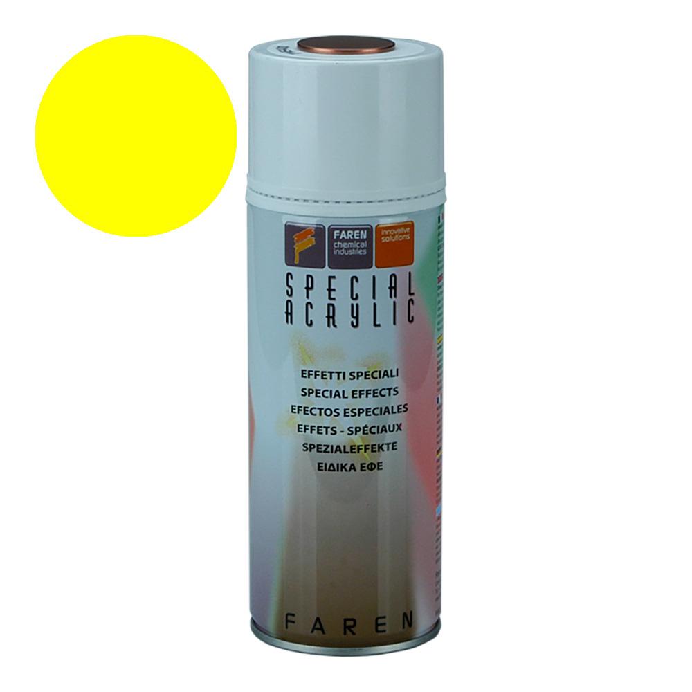 *Ult.Unidades* Spray Fluorescente Amarillo 400Ml
