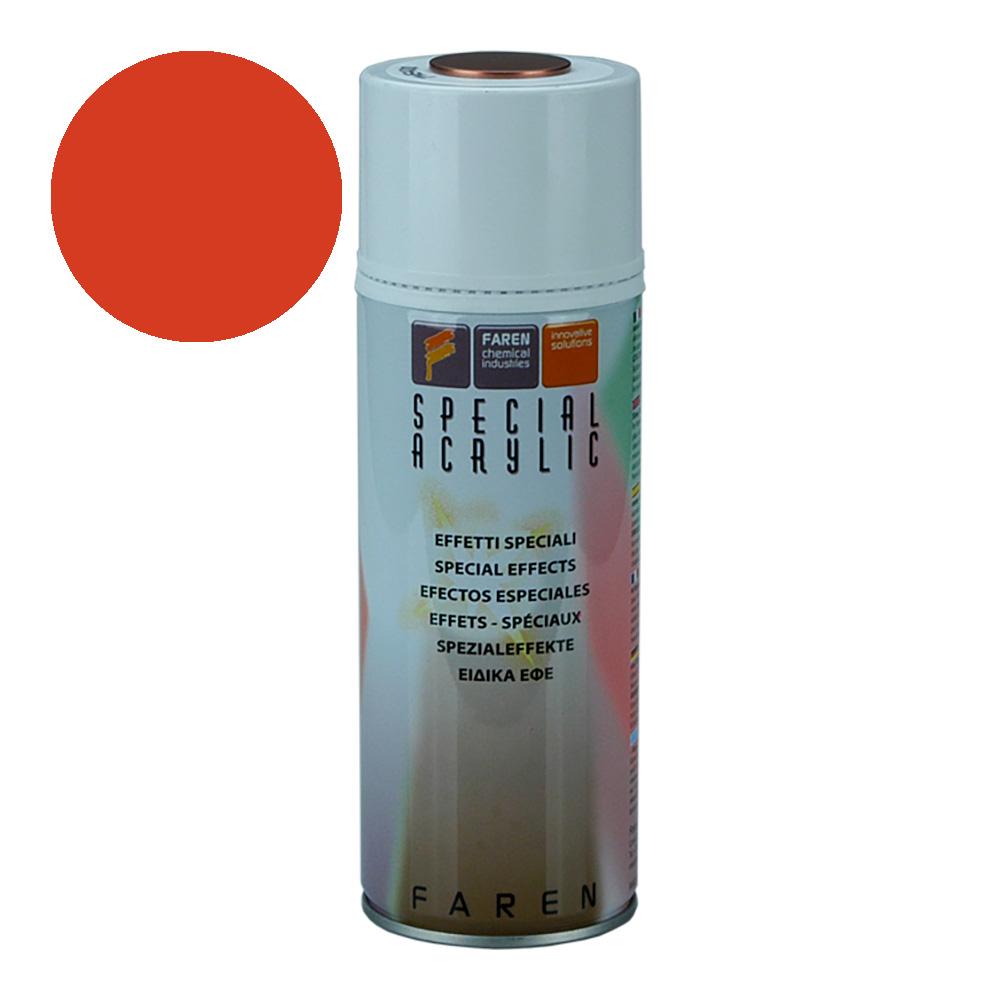 *Ult.Unidades* Spray Fluorescente Rojo 400Ml