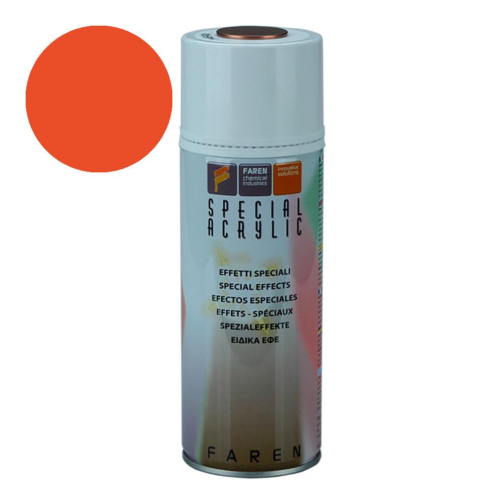 *Ult.Unidades* Spray Fluorescente Naranja 400Ml