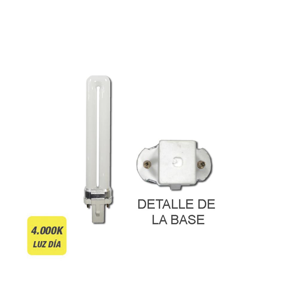 """Bombilla Bajo Consumo Lynx-S 7W 840K Luz Dia Casquillo G-23 """"Sylvania"""""""