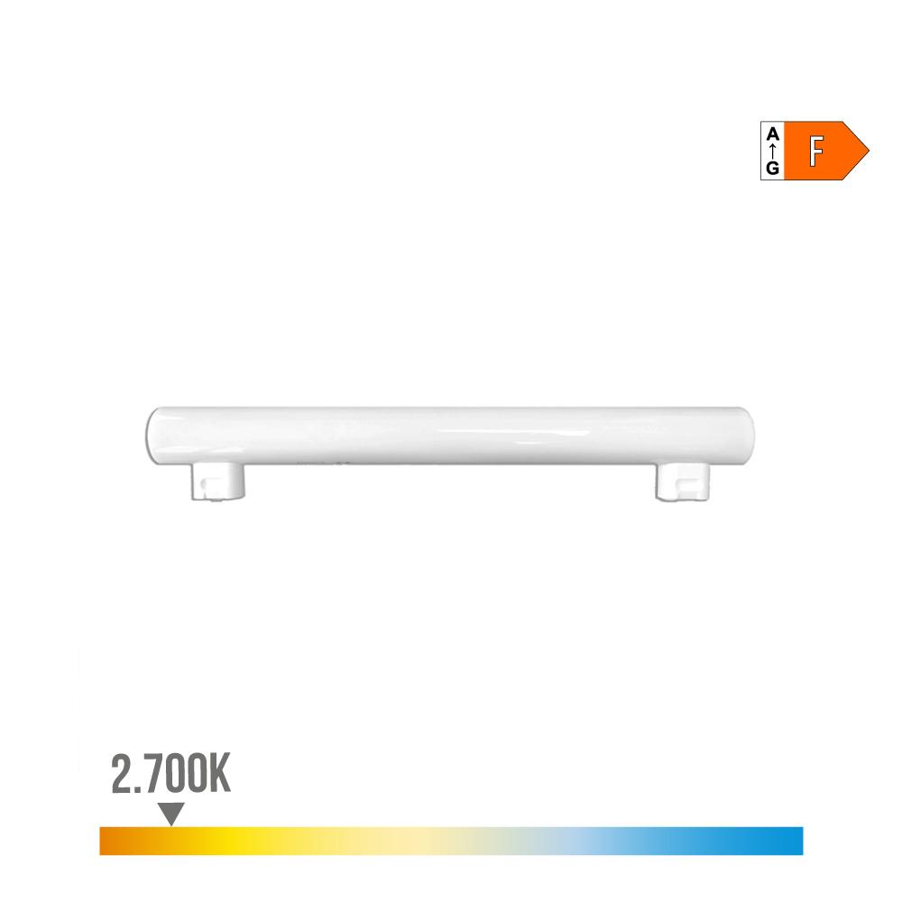 Linestra Led 7W 500 Lumens 2.700K Luz Calida 2 Casquillos S14S Edm