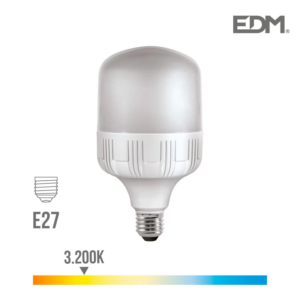 *Ult.Unidades*Bombilla Industrial Led 30W 2400 Lumens E27 3.200K Luz Calida Edm